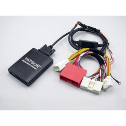Adaptador Yatour MAZ2 USB SD AUX Radio MP3 WMA Mazda 3 5 6 CX-5 CX-7 RX-8