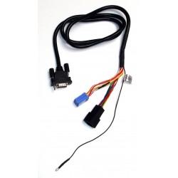 Cable Y Adaptador Yatour VW8D y Cargador de CDs Audi Seat Skoda