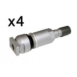Lote x4 piezas Kit Reparación Valvula Sistema Presión Neumático TPMS DODGE Durango Aspen Nitro