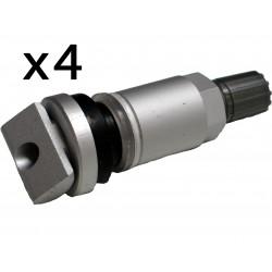 Lote x4 piezas Kit Reparación Valvula Sistema Presión Neumático TPMS JEEP Compas Patriot Grand Cherokee Ccommander Liberty
