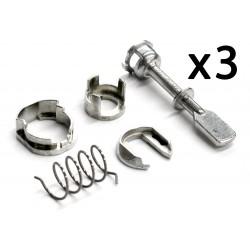 3x Juego reparacion para cilindro cerradura 6N0837223A Volkswagen Polo 1994-2001