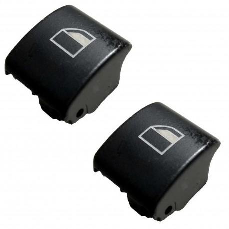 2x Finestra pulsante di ricambio Cappuccio destra e sinistra BMW serie 3 E46 X3 X7