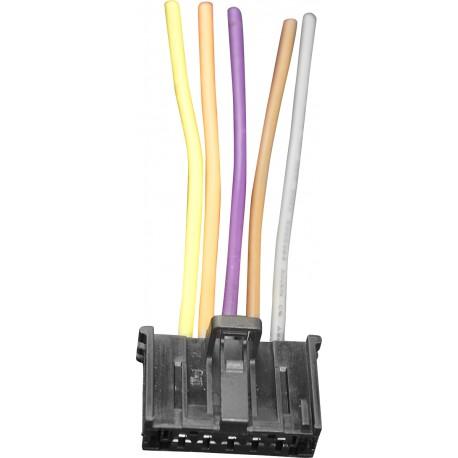 Conector resistencia calefaccion ventilacion 55702407 / 77364061 Fiat Alfa Romeo Opel