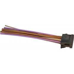 Repair kit plug resistor heater fan 8200729298 + thermoretractile insulation Renault Megane II