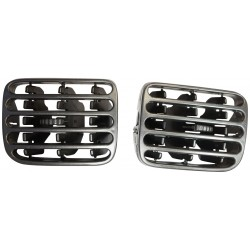 Air Vent Panel Left And Right Grill Pair (Black Color) 7702258280 & 7702258279