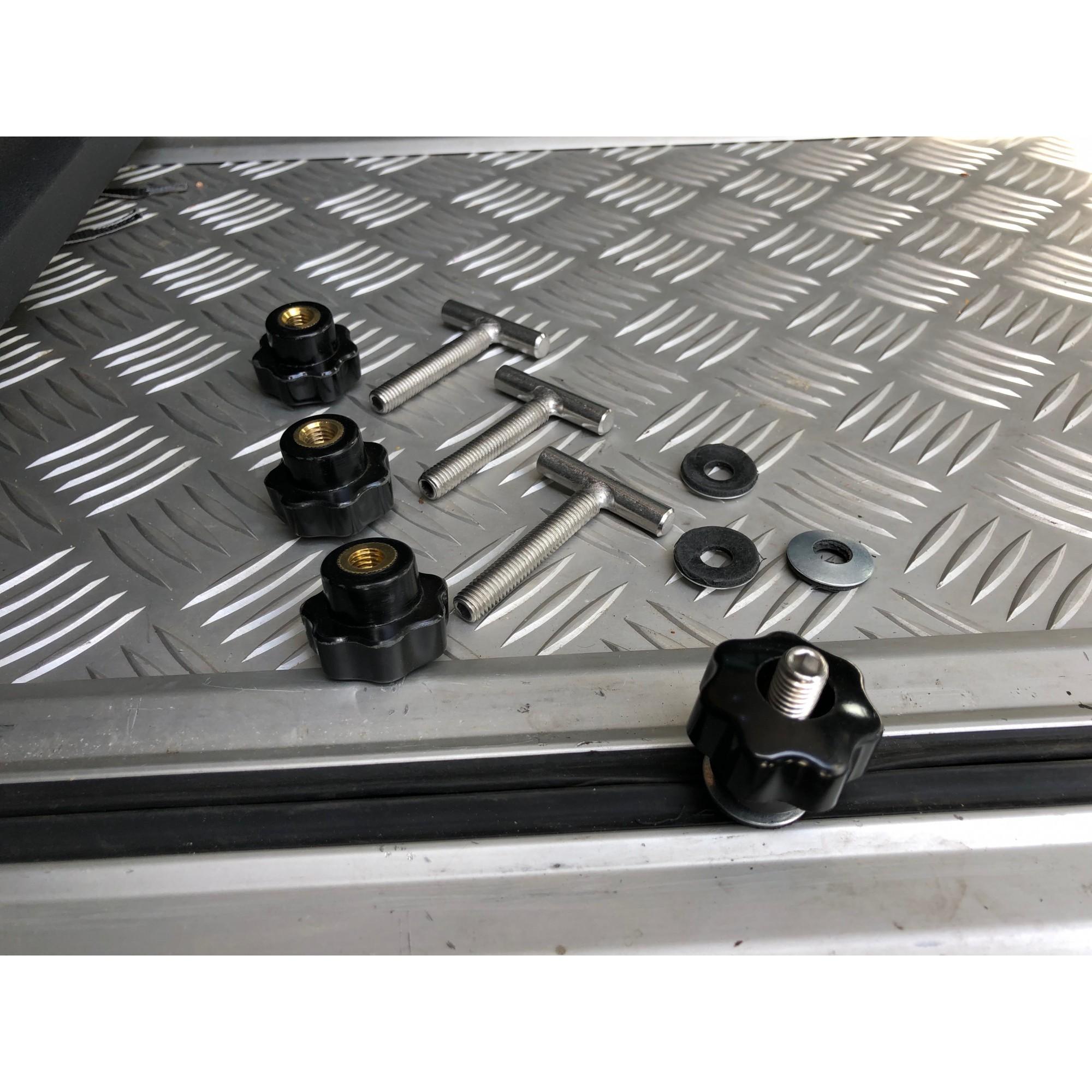 Tornillos en T de Acero fijación riel sujeción Multiflexboard Multivan Bus T5//T6