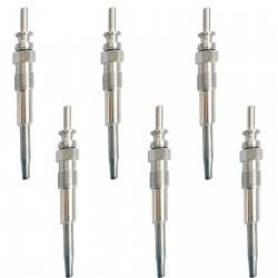 6x Glow Plug 12237786869 BMW E53 E60 E61 E63 E64 E65 E83 E91 E92 E46