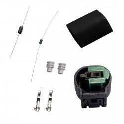 Sensor emulador solução falho luz vermelha Airbag BMW E36 E46 E39 E38 E53 E36 Z4 E60 E65 E61
