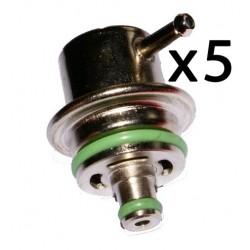 Lote x5 piezas de Regulador Presion Combustible 5 Bares Audi Seat Skoda VW