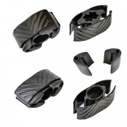 4x Sustitucion gomas anclajes del techo solar 7701209744 Renault Megane Scenic II